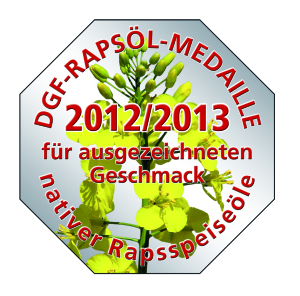 DGF-Rapsöl-Medaille 2012/2013