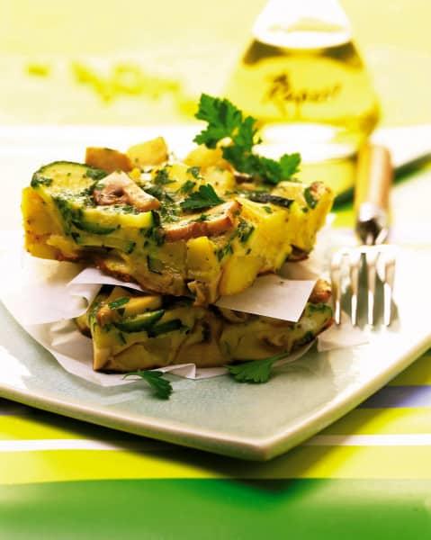 Gemüse-Kräuter-Frittata